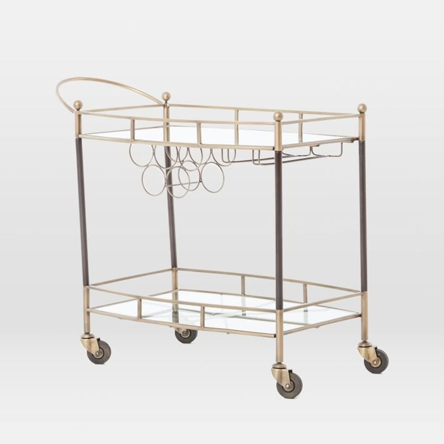 West Elm Aster Bar Cart - image-1