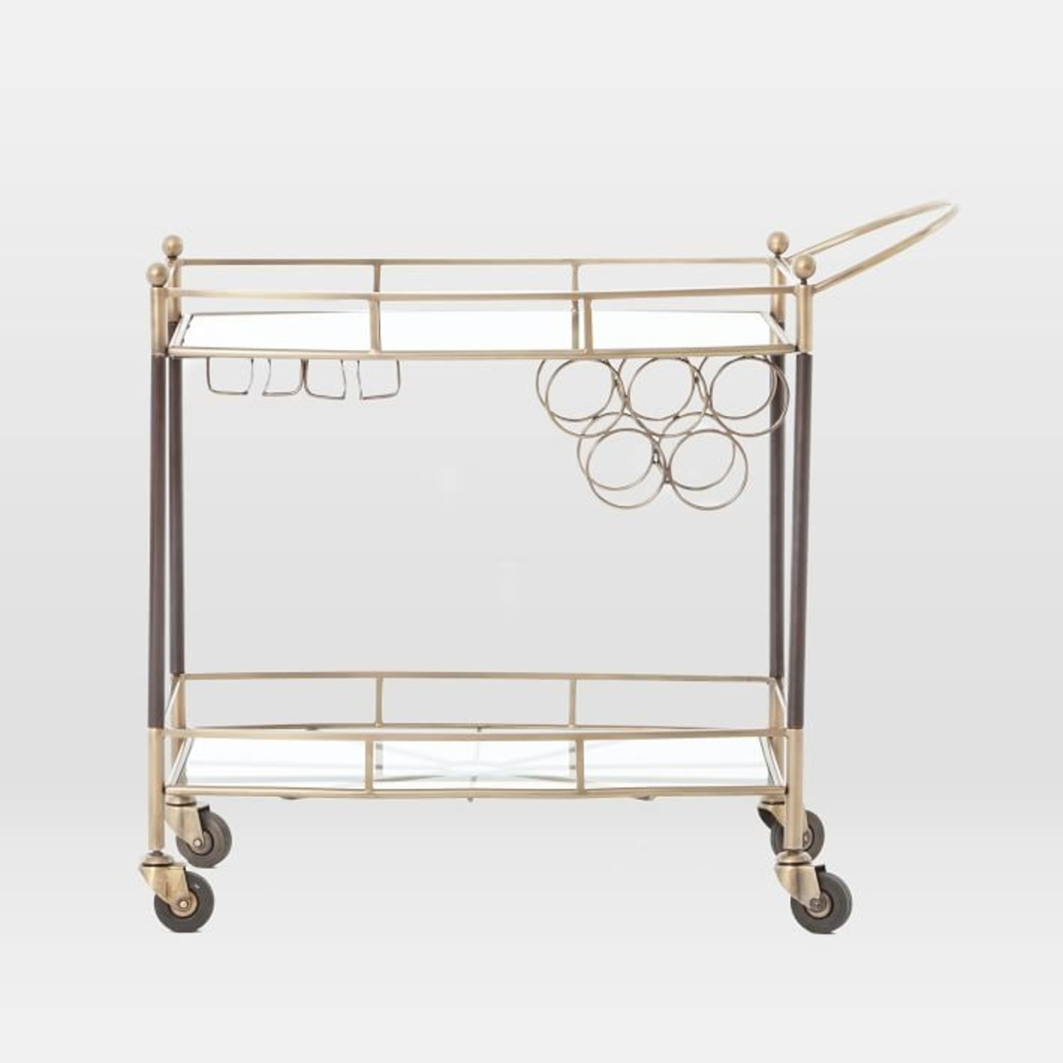 West Elm Aster Bar Cart - image-2