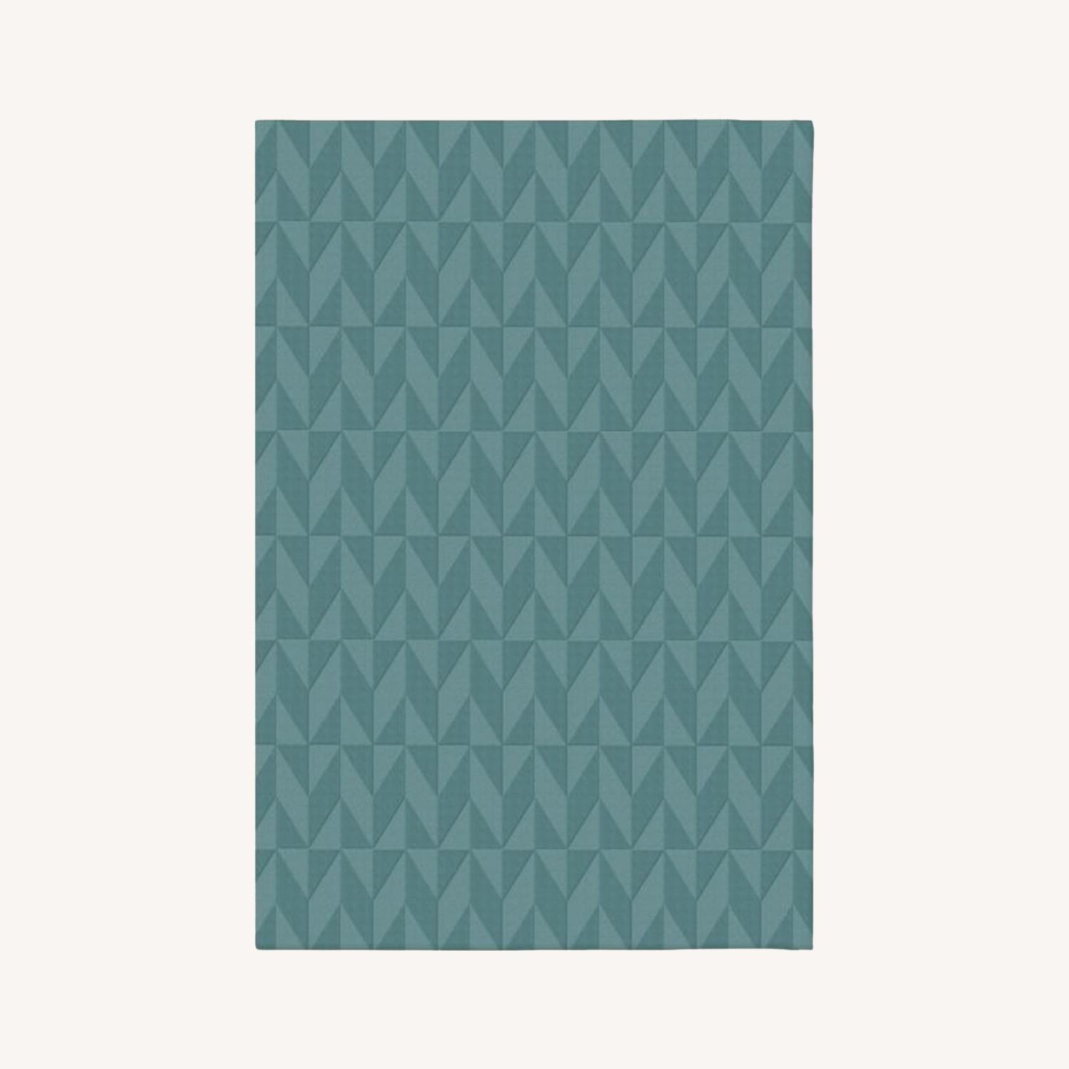 West Elm SPO Andes Rug, True Blue - image-0