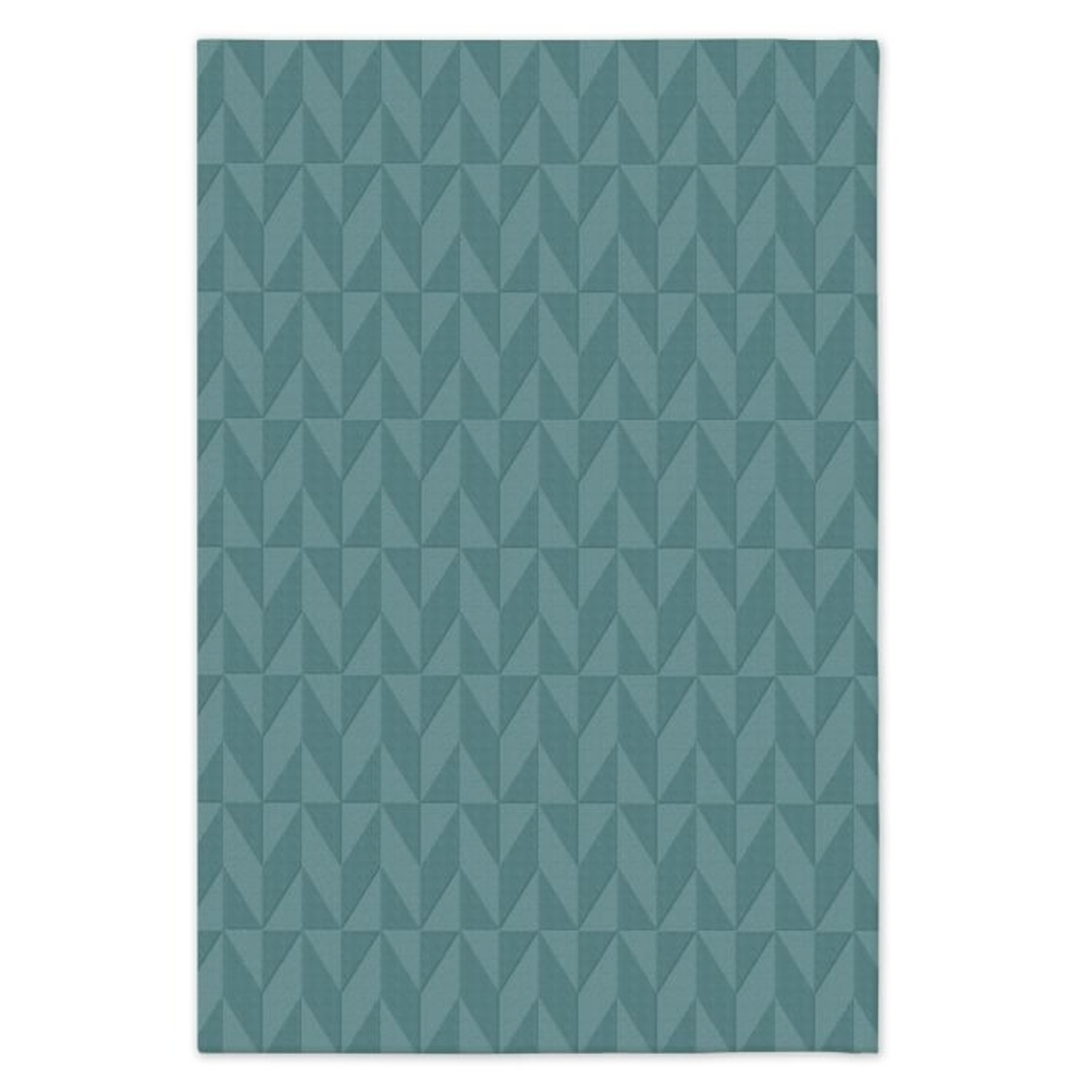 West Elm SPO Andes Rug, True Blue - image-1