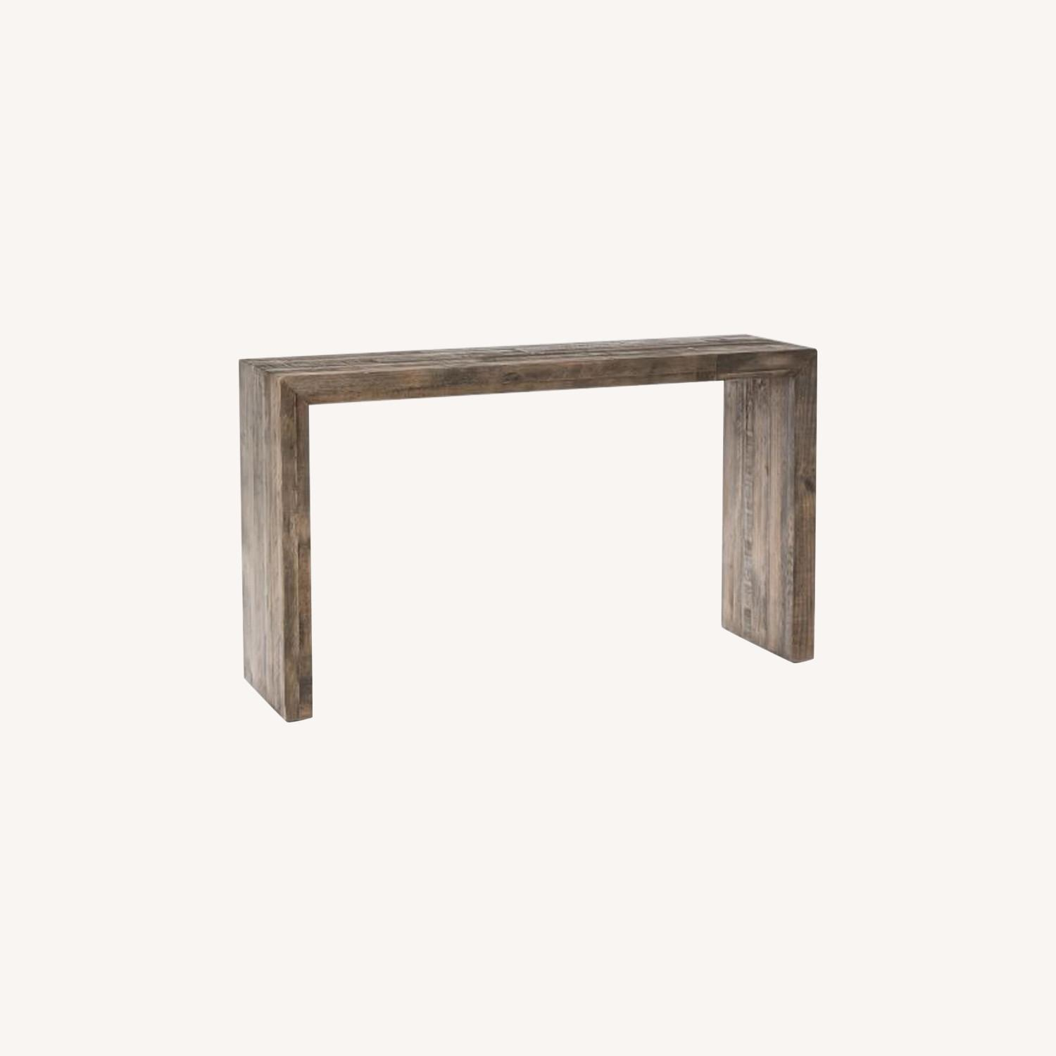 West Elm Emmerson Reclaimed Wood Console - image-0