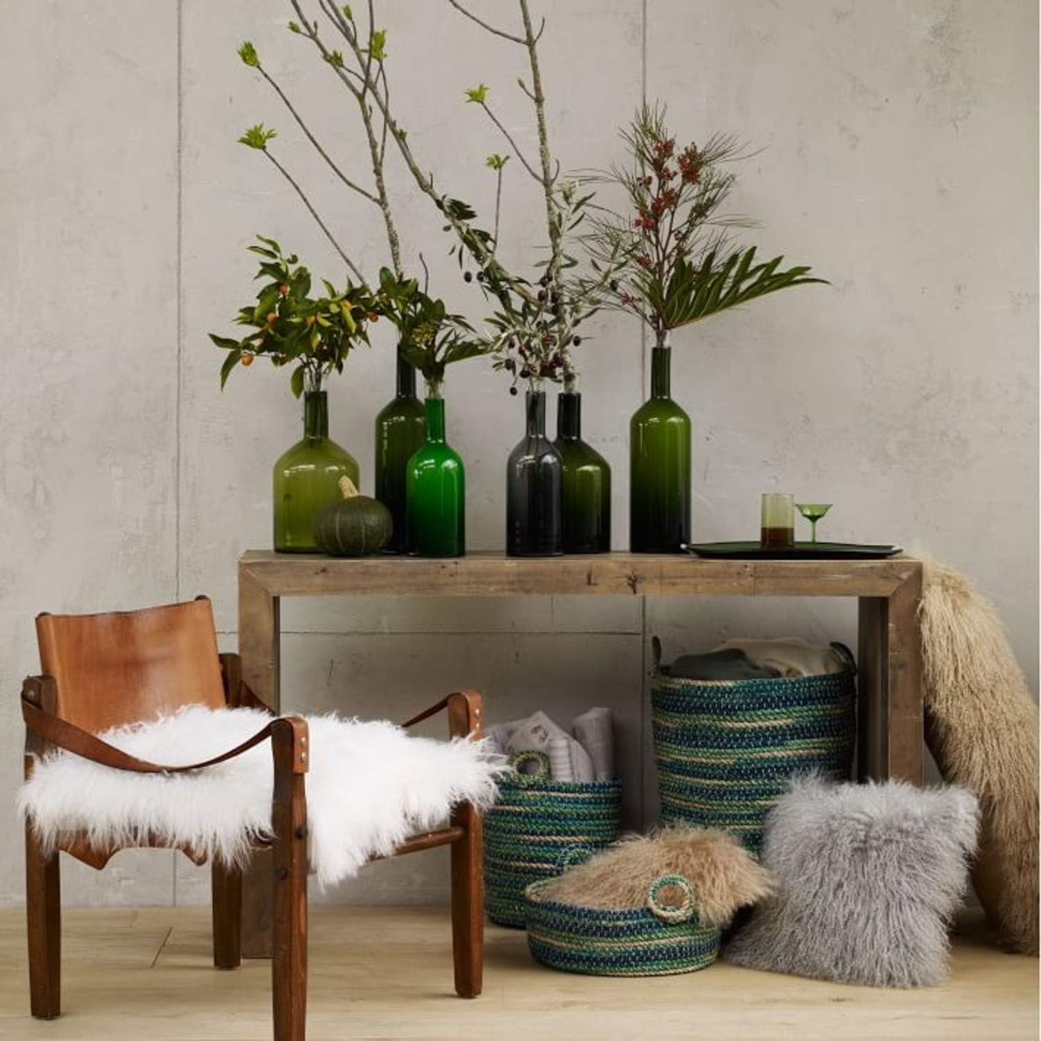 West Elm Emmerson Reclaimed Wood Console - image-2