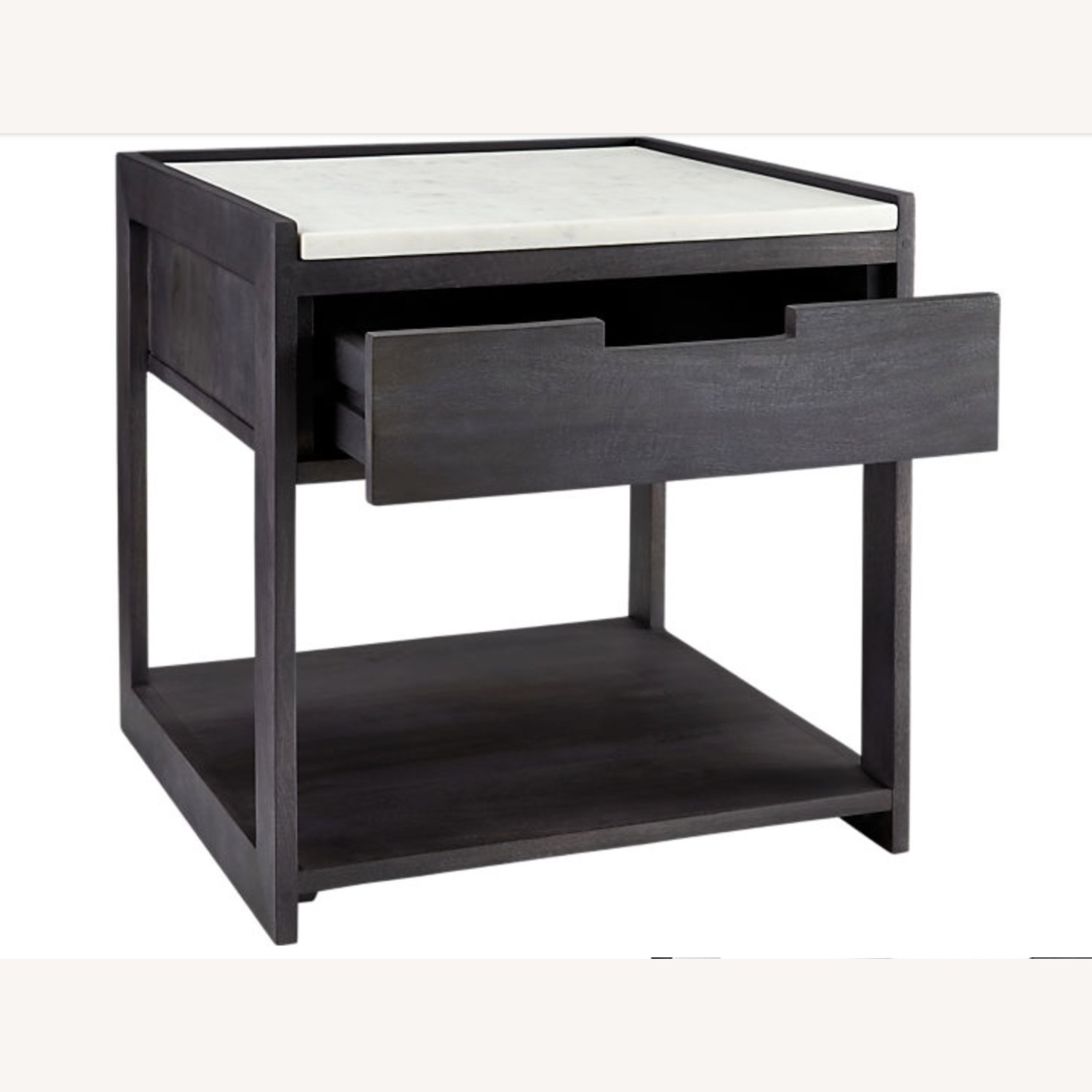 CB2 Tux Marble Top Nightstand - image-6
