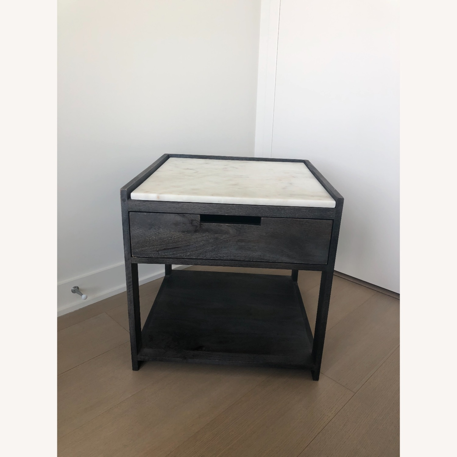 CB2 Tux Marble Top Nightstand - image-2