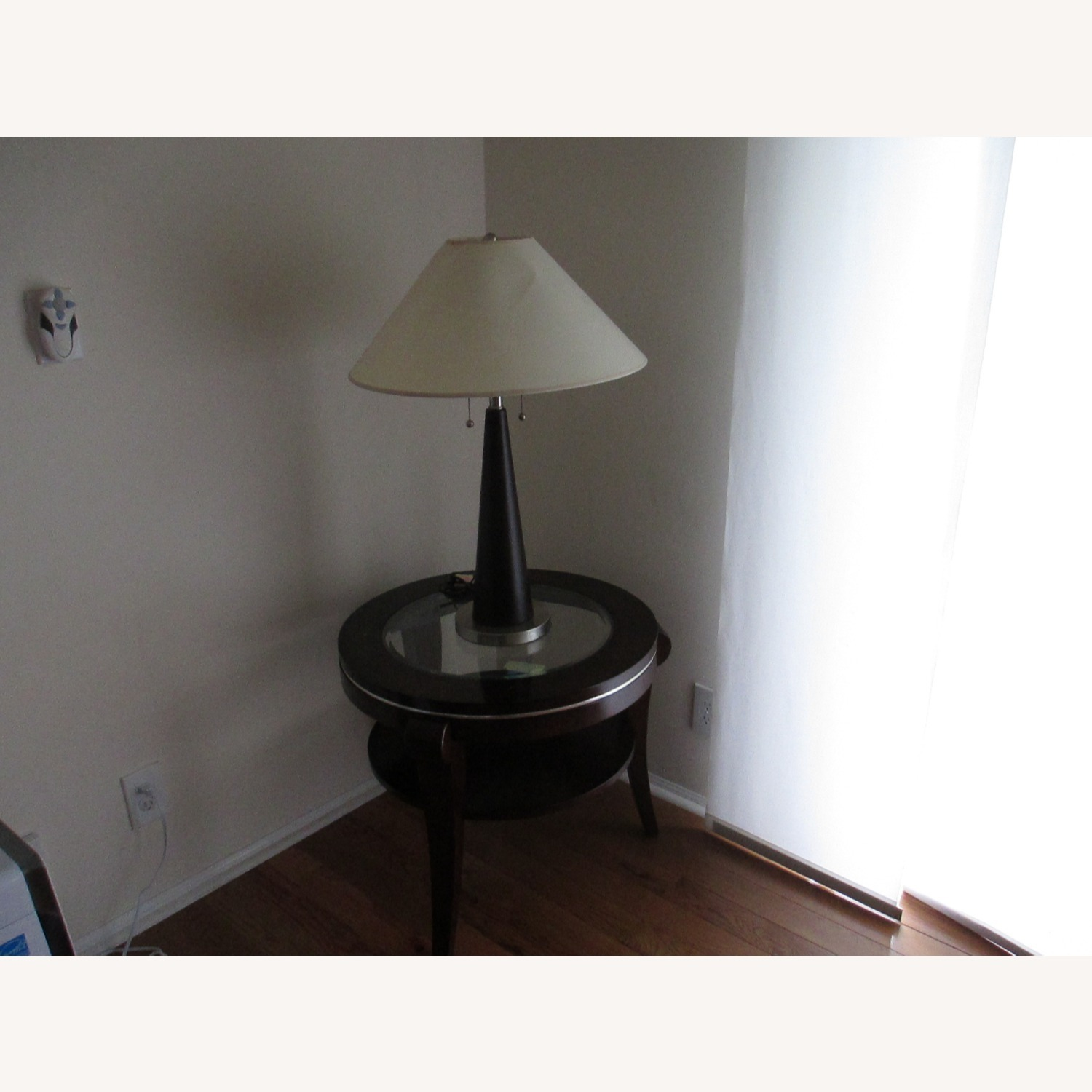 Identical Twin Side Table Lamps - image-3