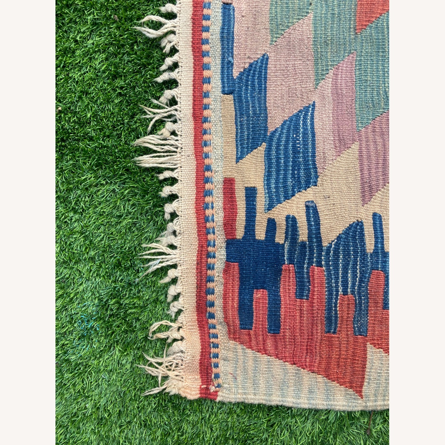 Vintage Turkish Area Rug - image-2
