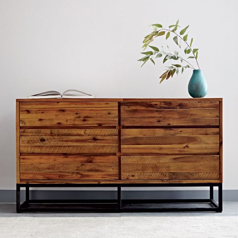 West Elm Logan 6 Drawer Dresser - image-1