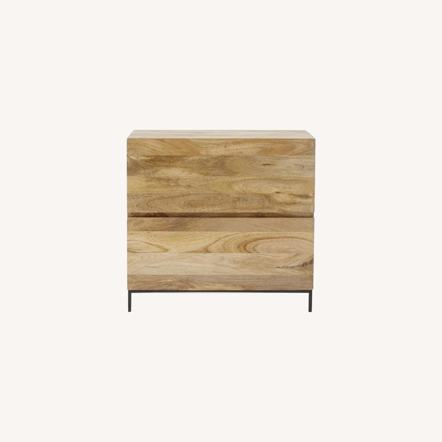 West Elm Industrial File Cabinet - image-0