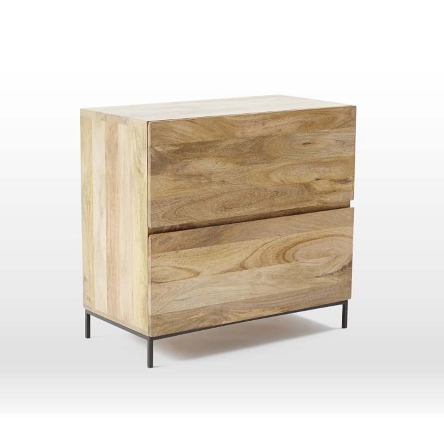 West Elm Industrial File Cabinet - image-1
