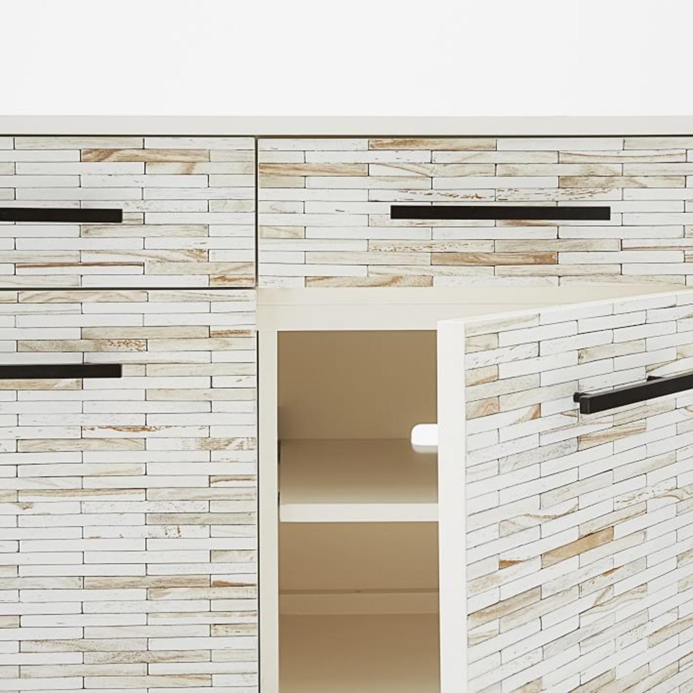 West Elm Wood Tiled Buffet - image-2