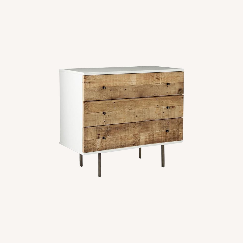 West Elm Reclaimed Wood + Lacquer 3 Drawer Dresser - image-0