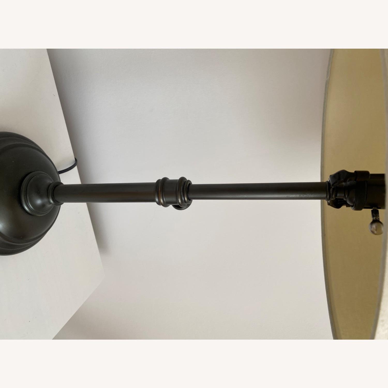 Pottery Barn Bronze Metal Table Lamp - image-3