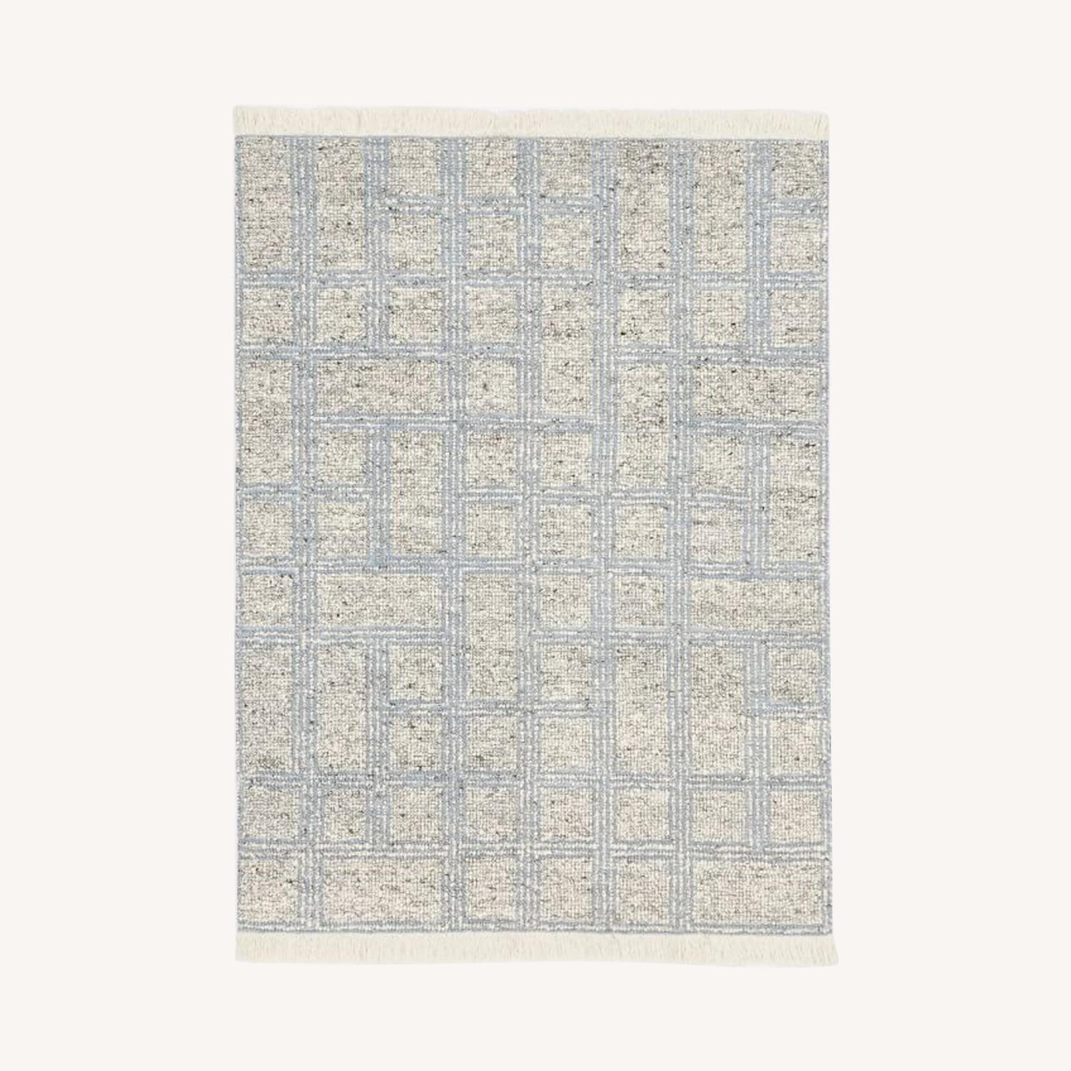 West Elm Stacked Squares Rug - image-0