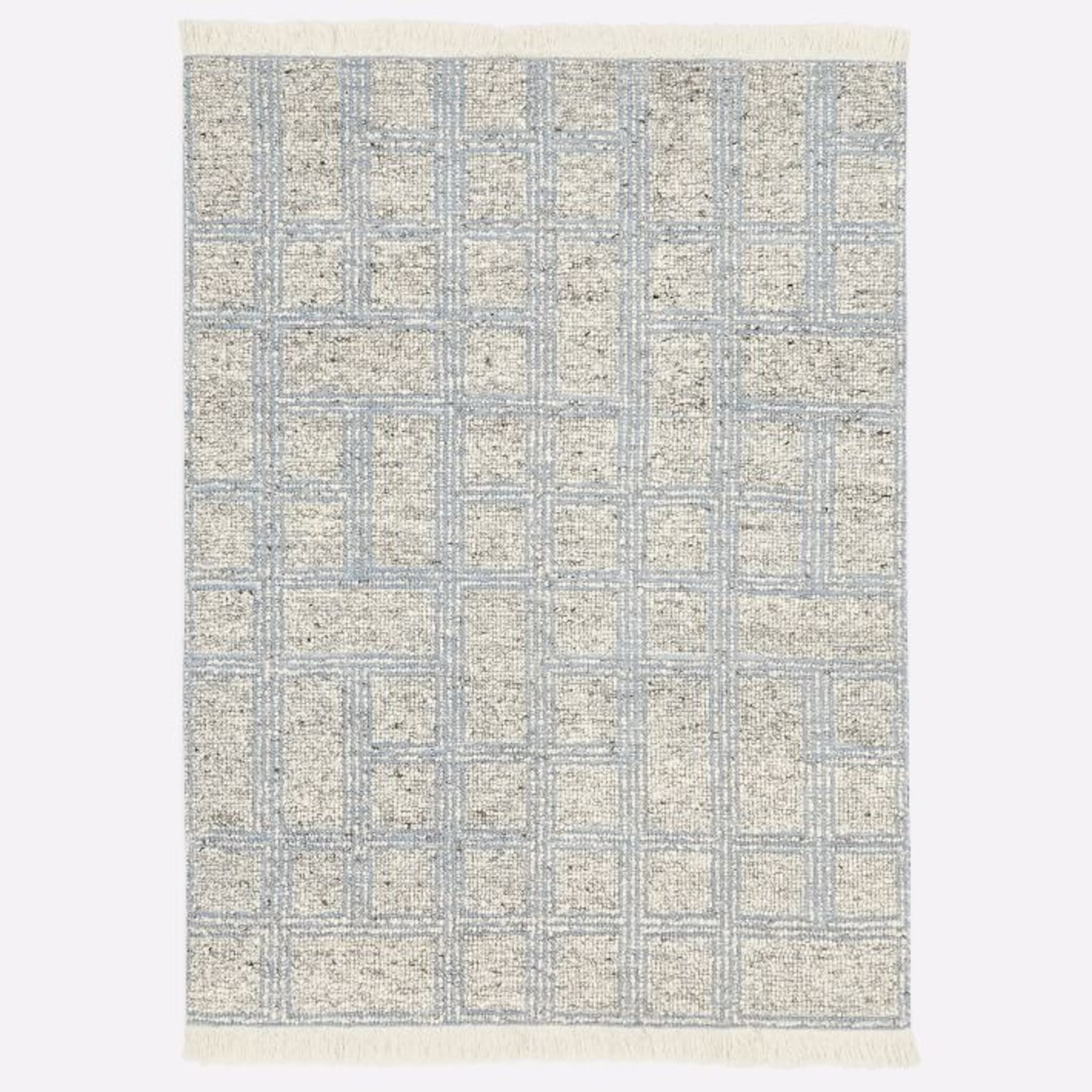 West Elm Stacked Squares Rug - image-1