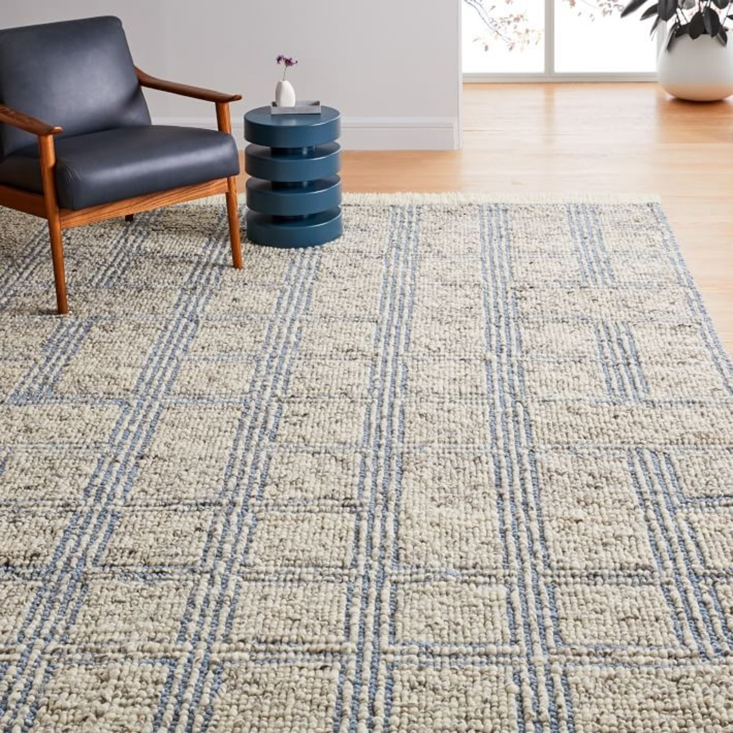 West Elm Stacked Squares Rug - image-2