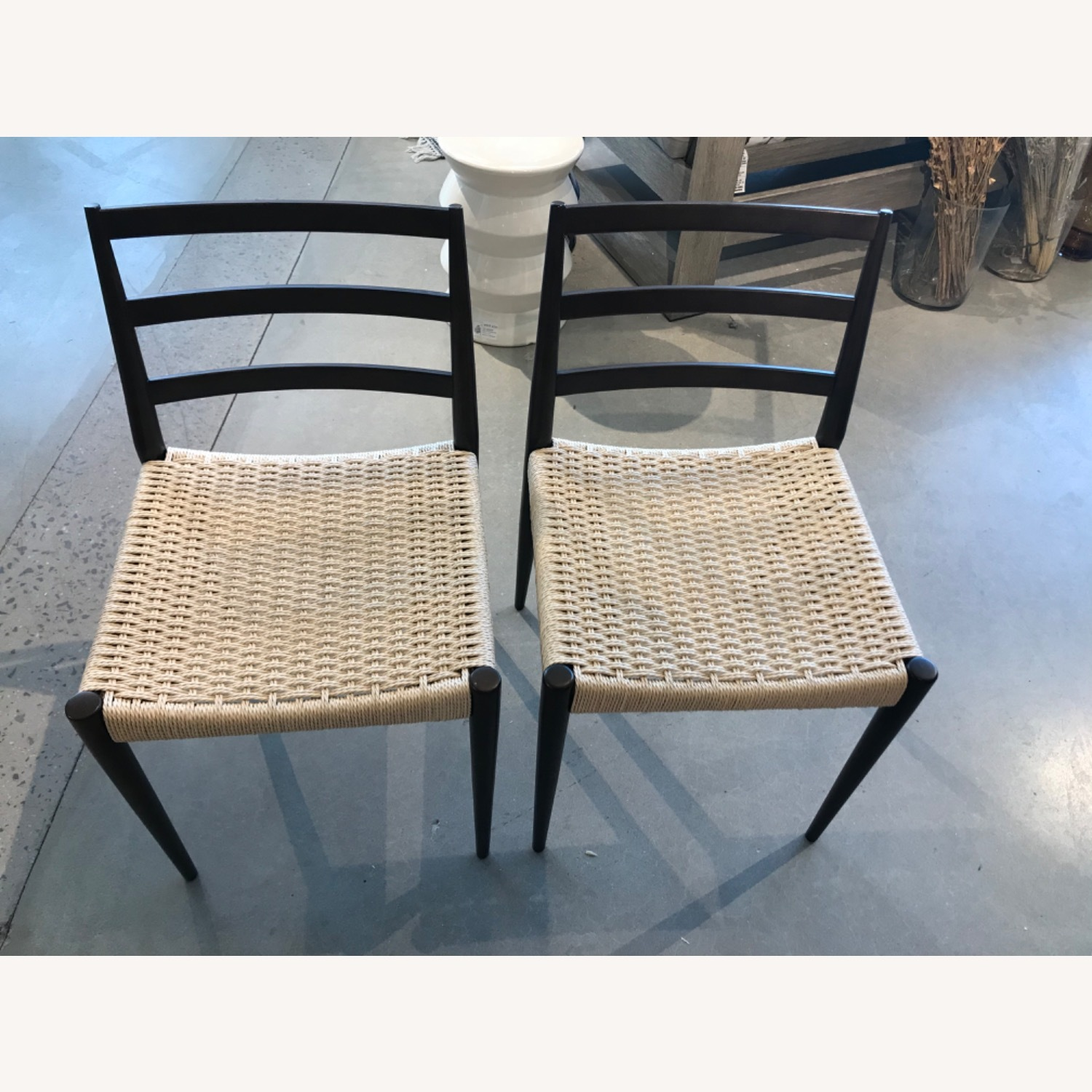 West Elm Holland Woven Dining Chair (Set of 2) - image-8