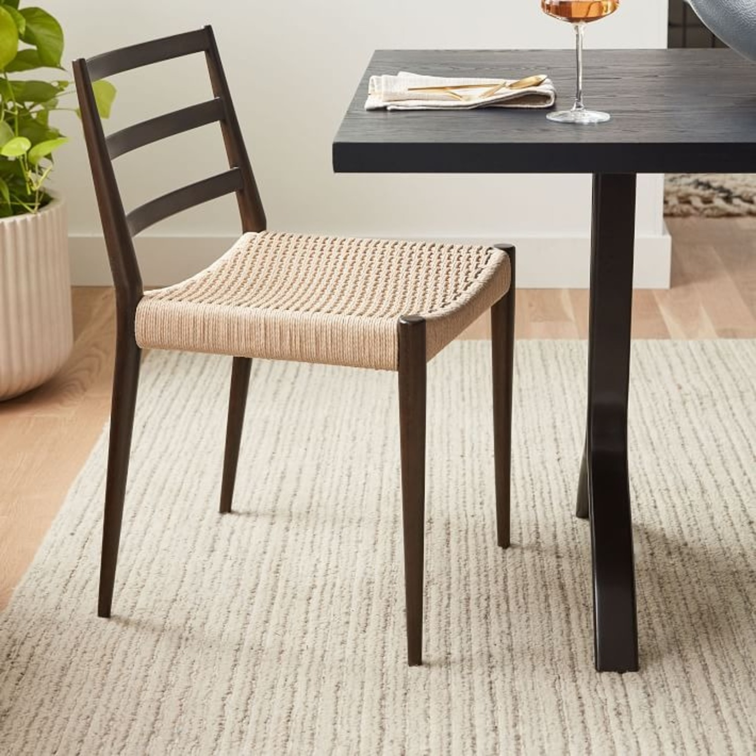 West Elm Holland Woven Dining Chair (Set of 2) - image-4