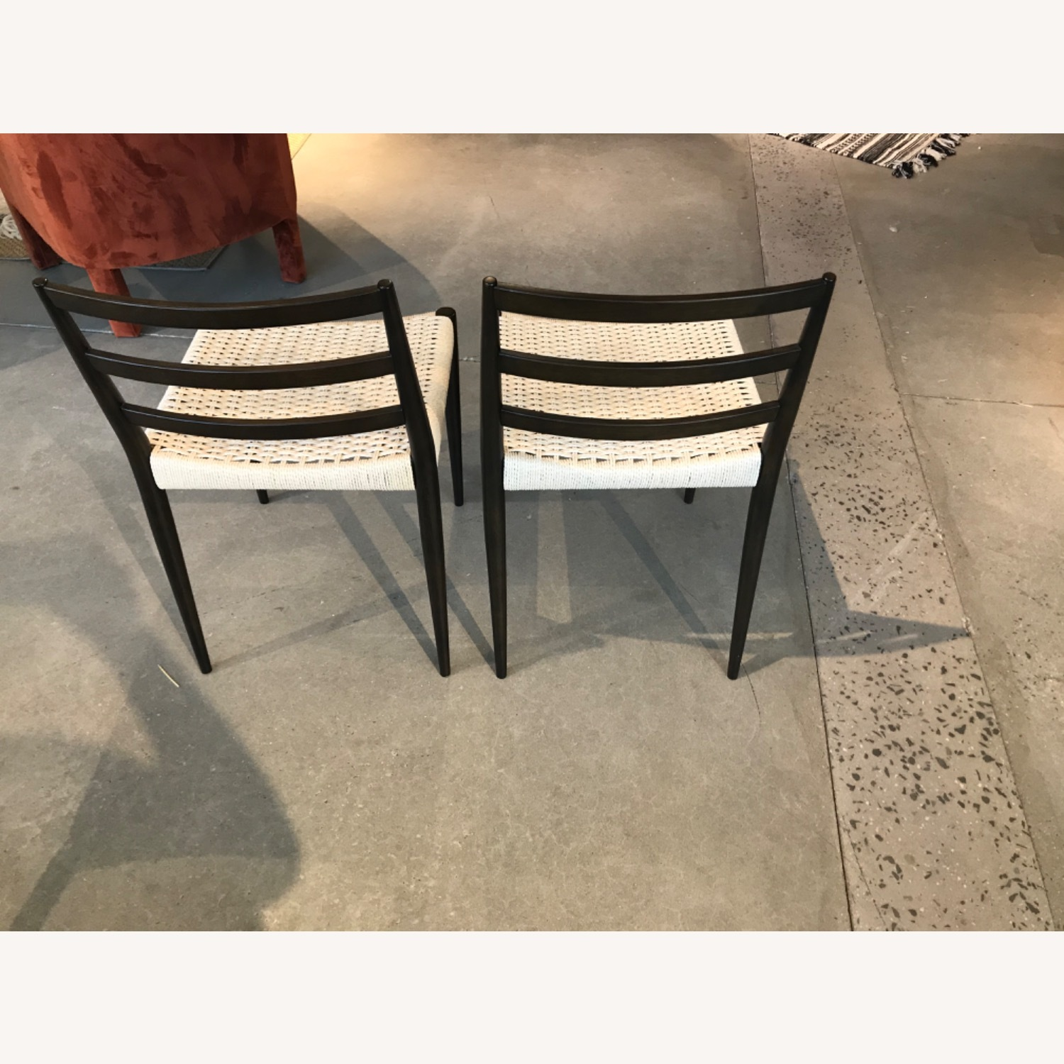 West Elm Holland Woven Dining Chair (Set of 2) - image-5