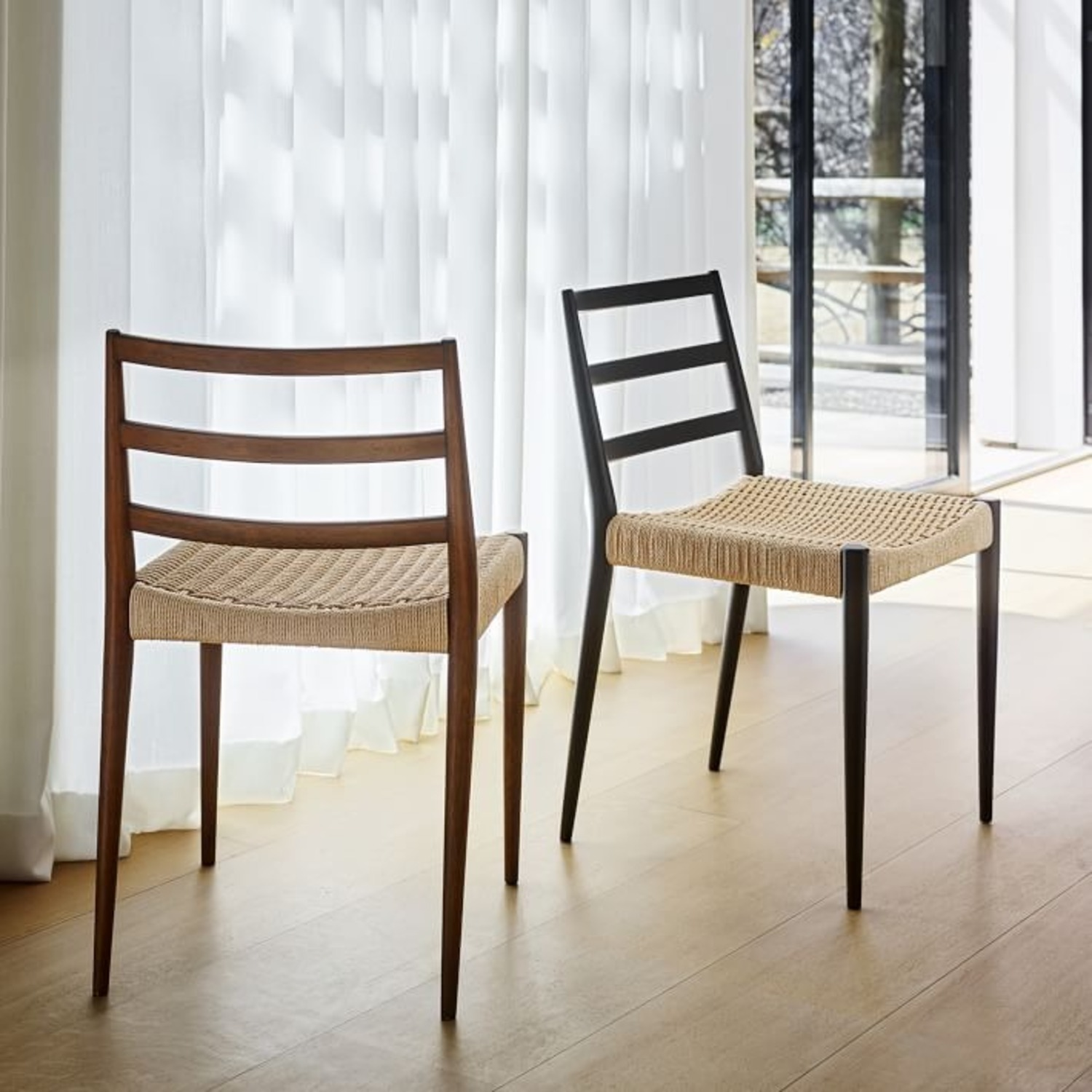 West Elm Holland Woven Dining Chair (Set of 2) - image-2