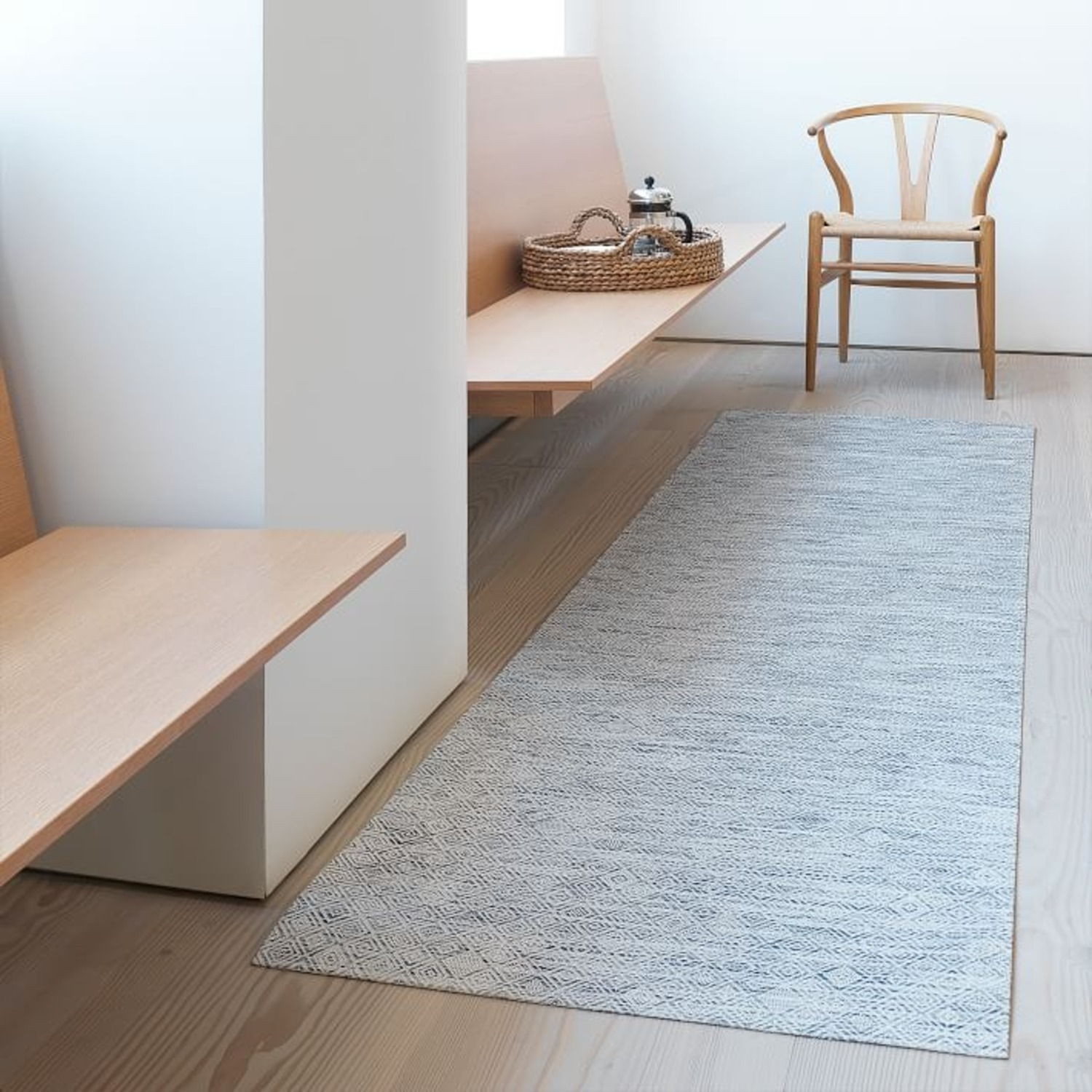 West Elm Chilewich Mosaic Woven Floormat - image-2