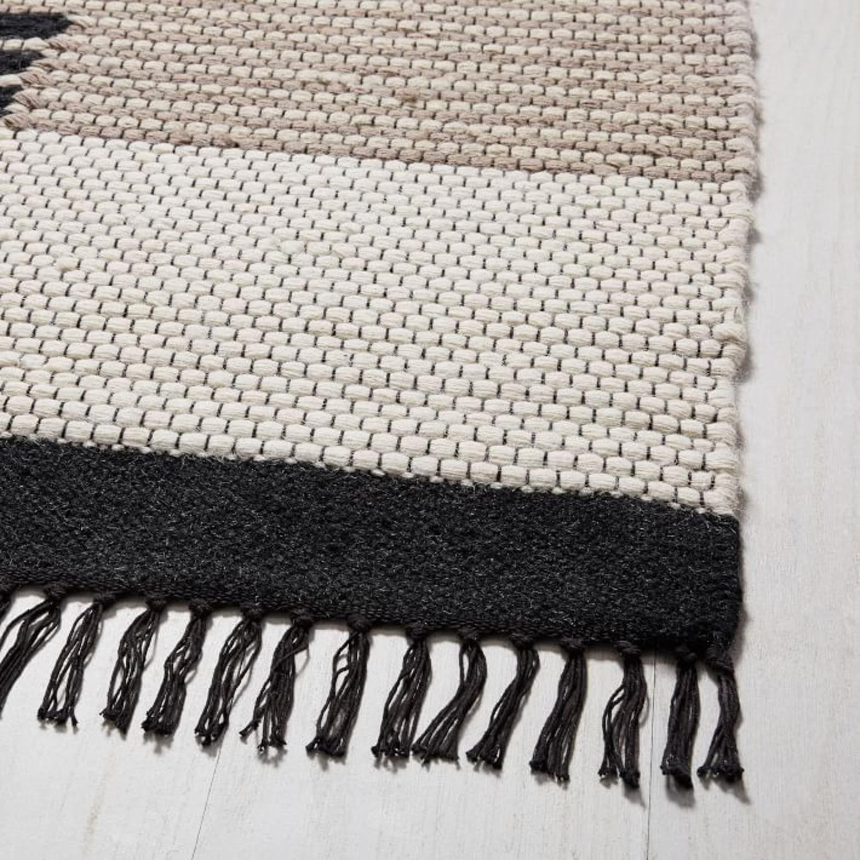West Elm Colca Wool Rug, Flax - image-2
