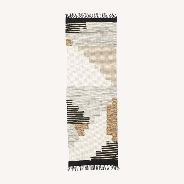 West Elm Colca Wool Rug, Flax - image-0