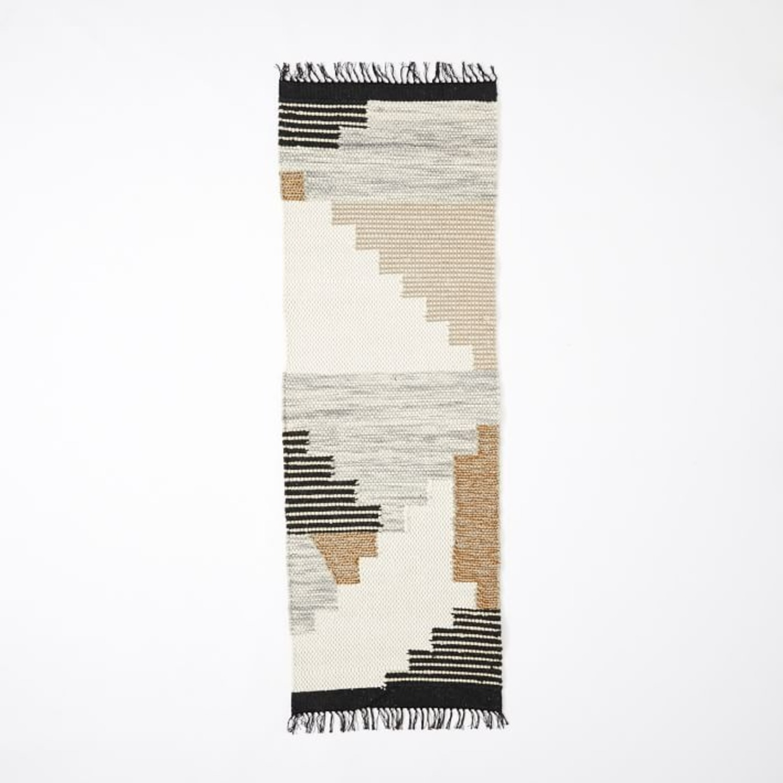 West Elm Colca Wool Rug, Flax - image-1
