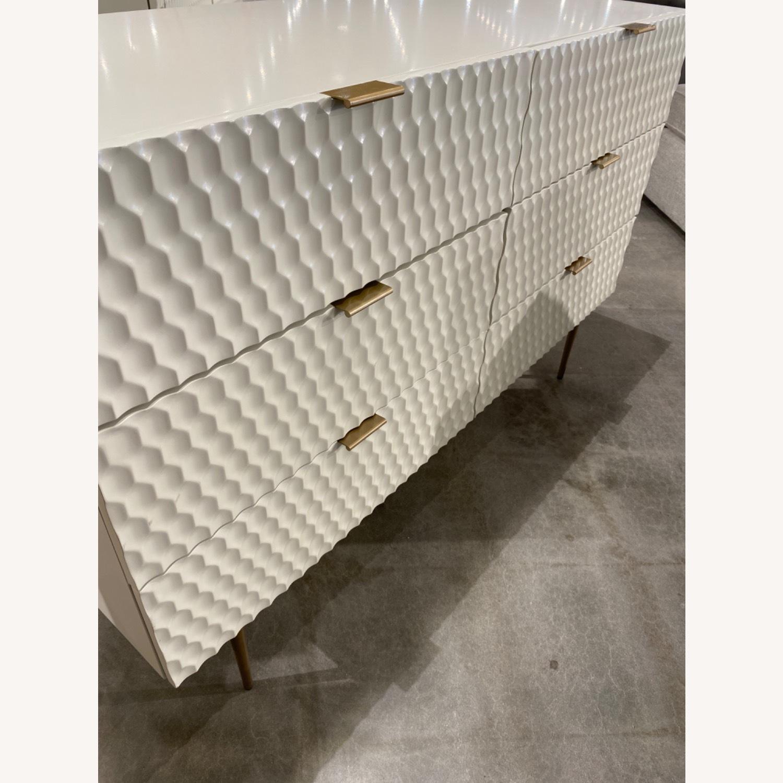 West Elm Audrey 6-Drawer Dresser, Parchment - image-4