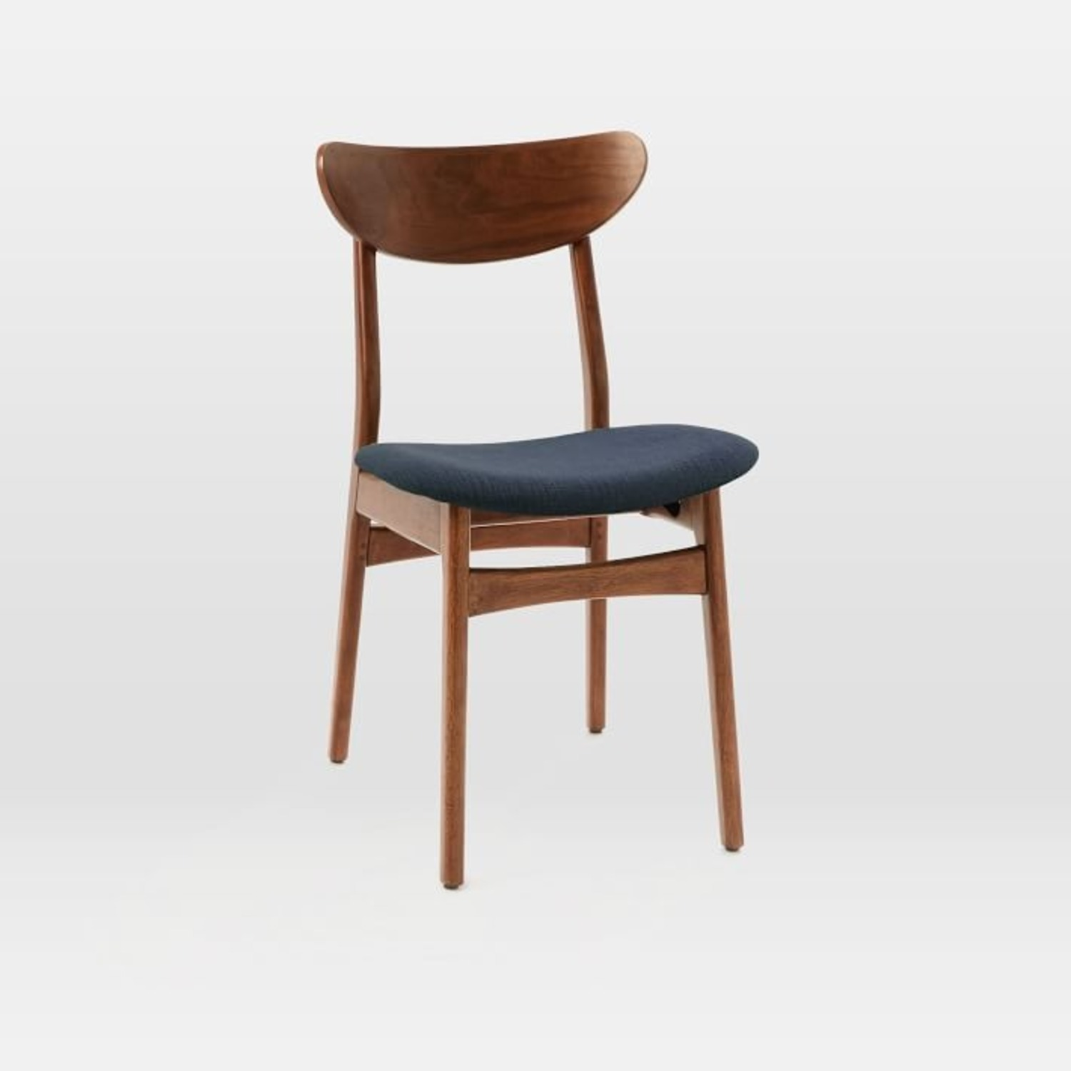 West Elm Classic Café Upholstered Dining Chair - image-1