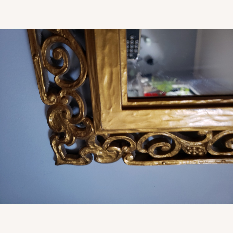 Gold Frame Vintage Mirror - image-2
