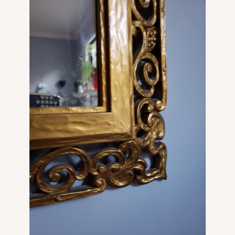 Gold Frame Vintage Mirror - image-5