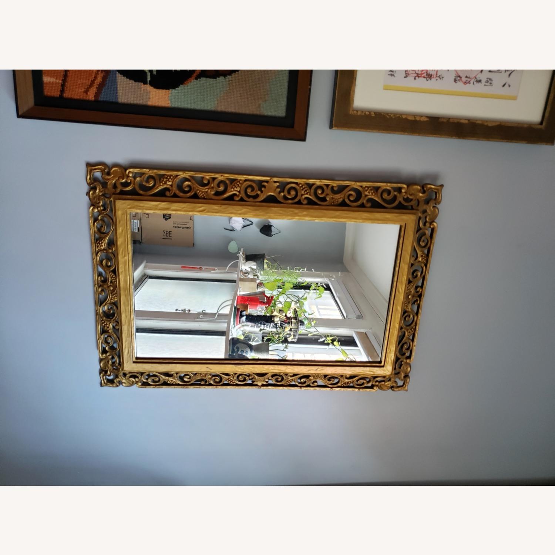 Gold Frame Vintage Mirror - image-4