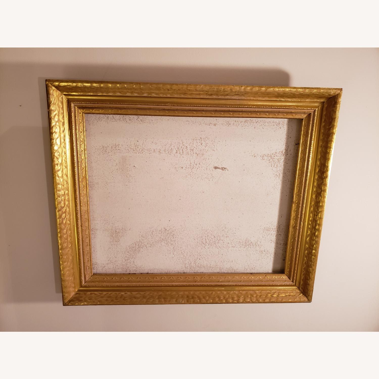 Vintage Gold Frame on Corkboard - image-1