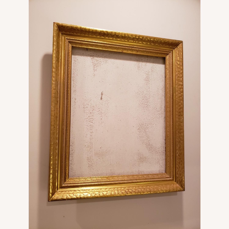 Vintage Gold Frame on Corkboard - image-0