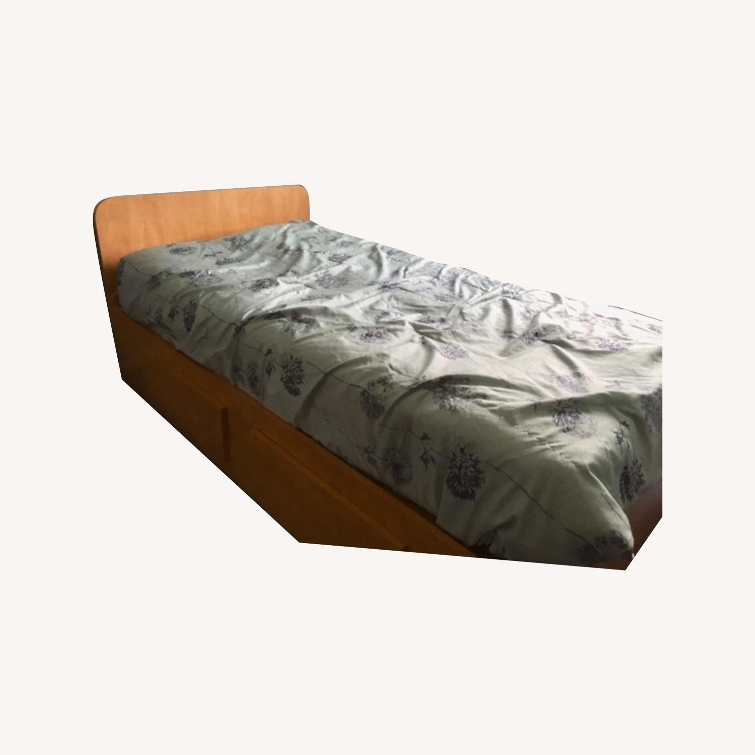 Twin Size Captains Bed - image-0