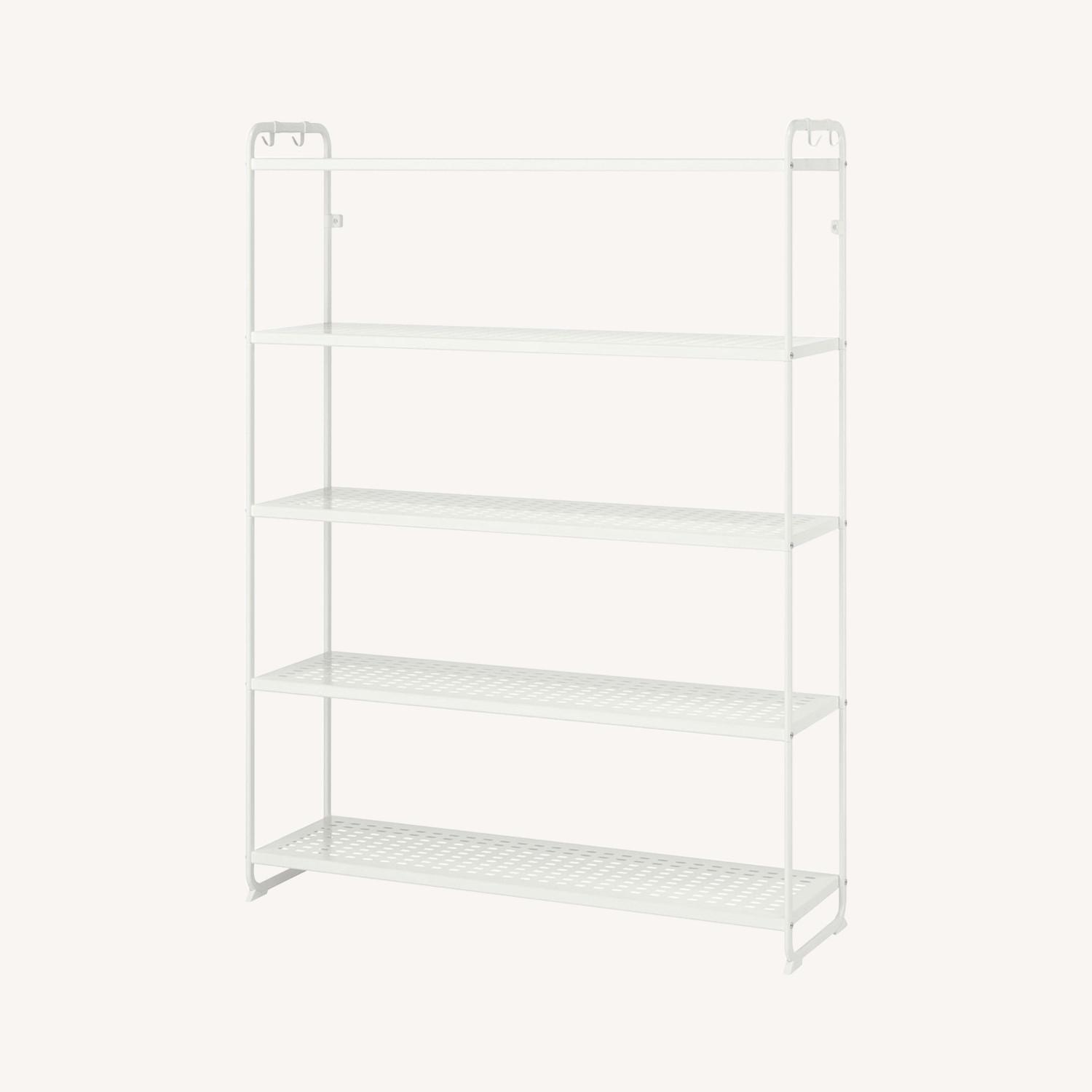 IKEA Metal Shelving Unit - image-0