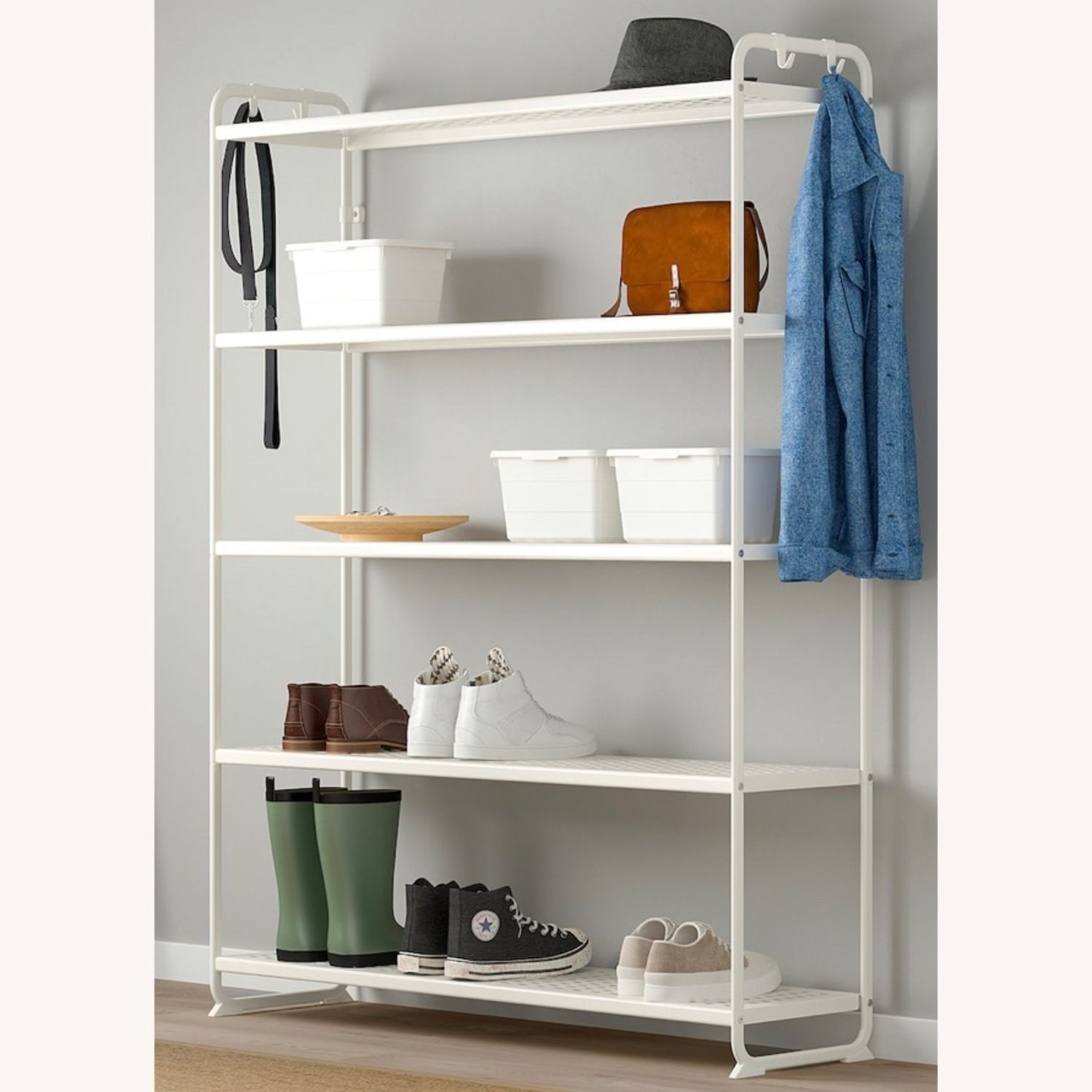 IKEA Metal Shelving Unit - image-4
