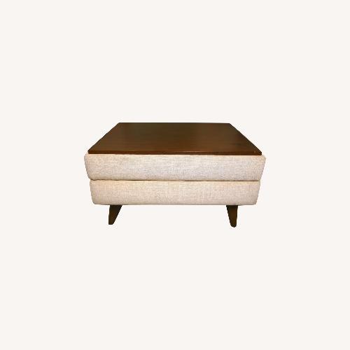 Used Joybird Hughes Walnut Midcentury Coffee Table for sale on AptDeco