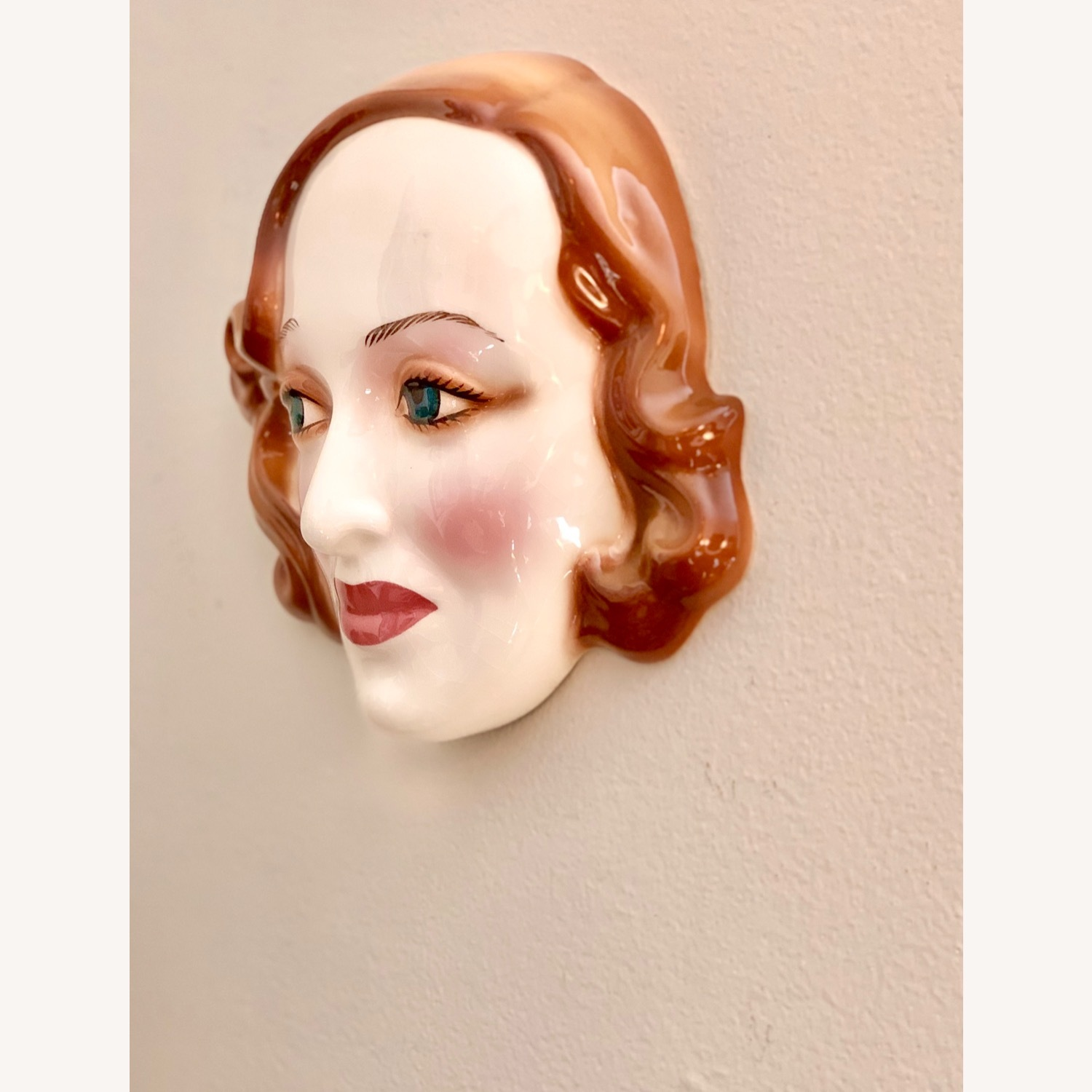 Vintage Porcelain Bette Davis Wall art - image-2