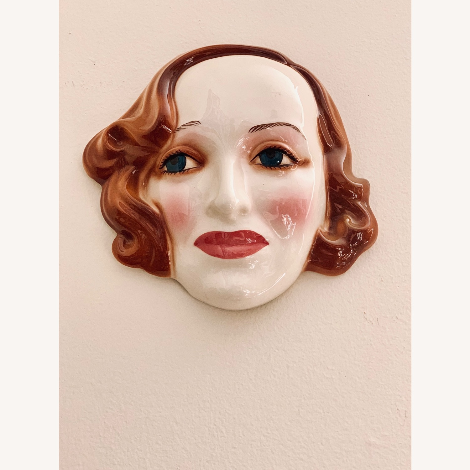 Vintage Porcelain Bette Davis Wall art - image-3