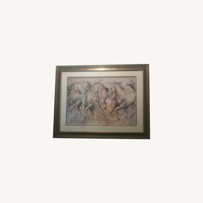 Horse Whispener Wall Art - image-0