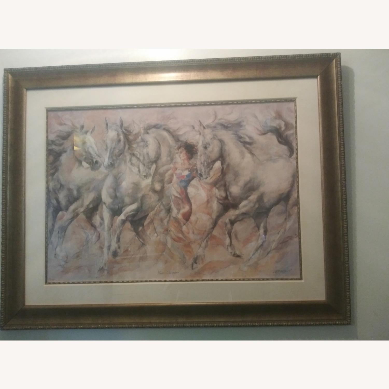 Horse Whispener Wall Art - image-1