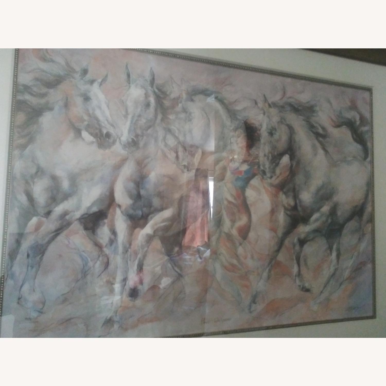 Horse Whispener Wall Art - image-6