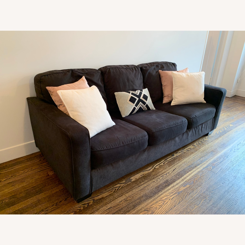 Ashley Furniture Aleyna Microfiber Sofa - AptDeco