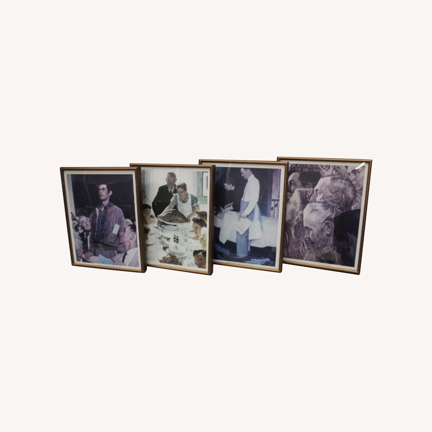 Normal Rockwell 4 Piece Wall Art - image-0