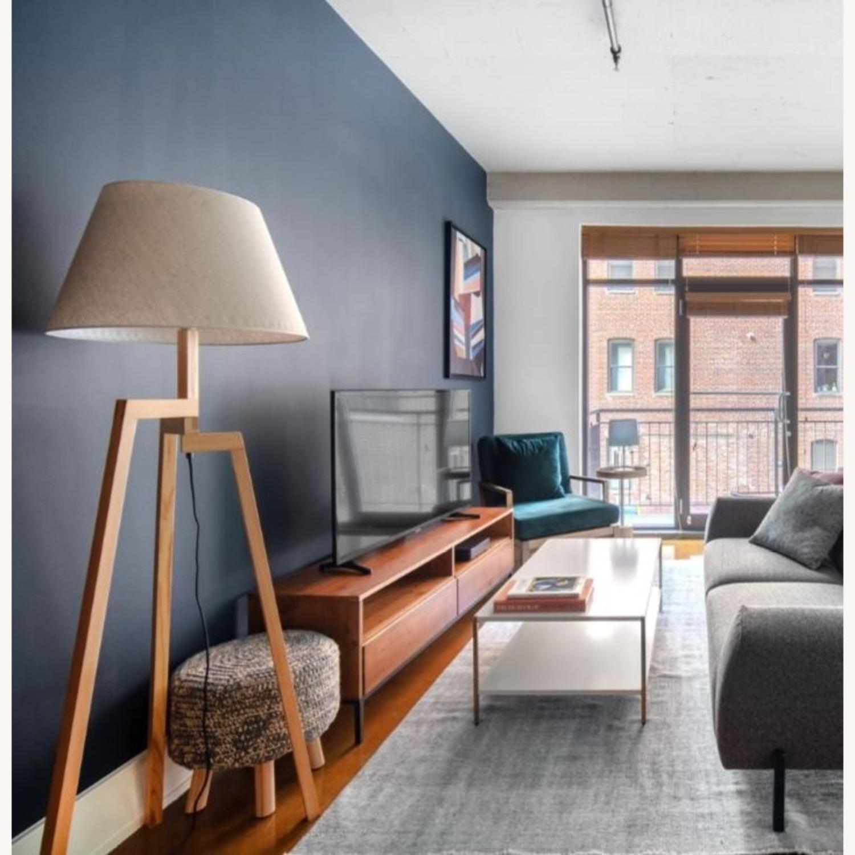 Blueground Floor Lamp Natural Cream - image-1