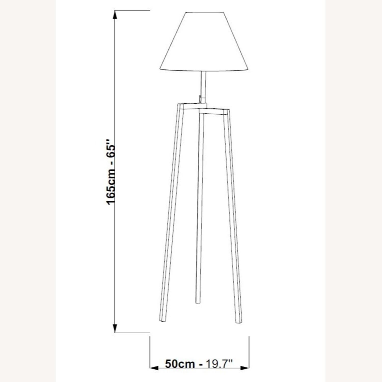 Blueground Floor Lamp Natural Cream - image-2