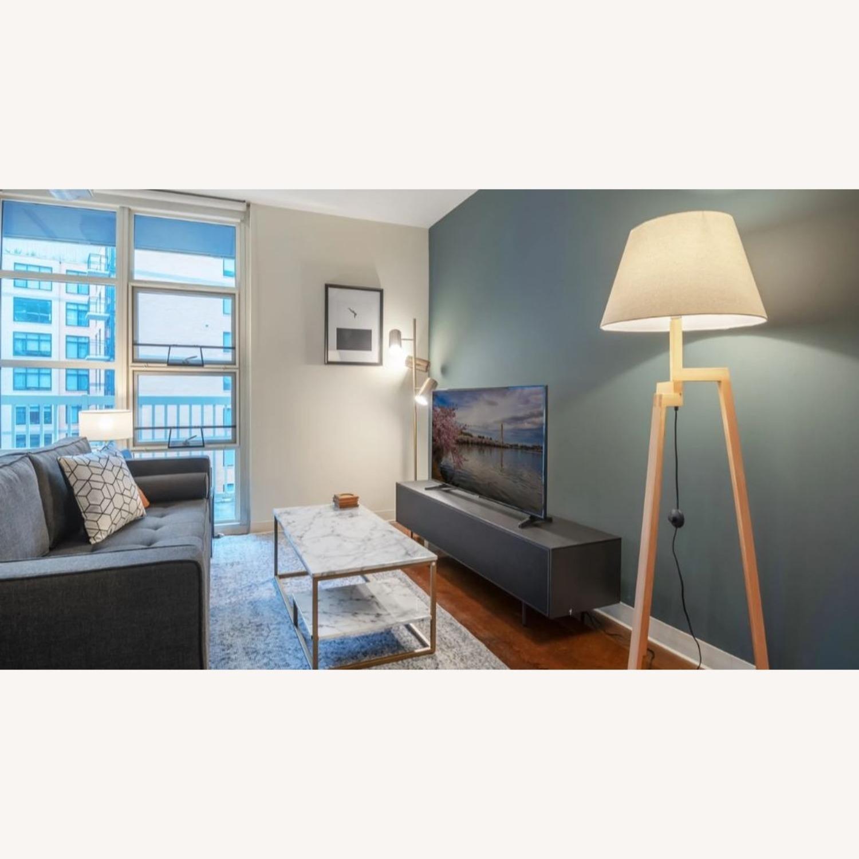 Blueground Floor Lamp Natural Cream - image-3