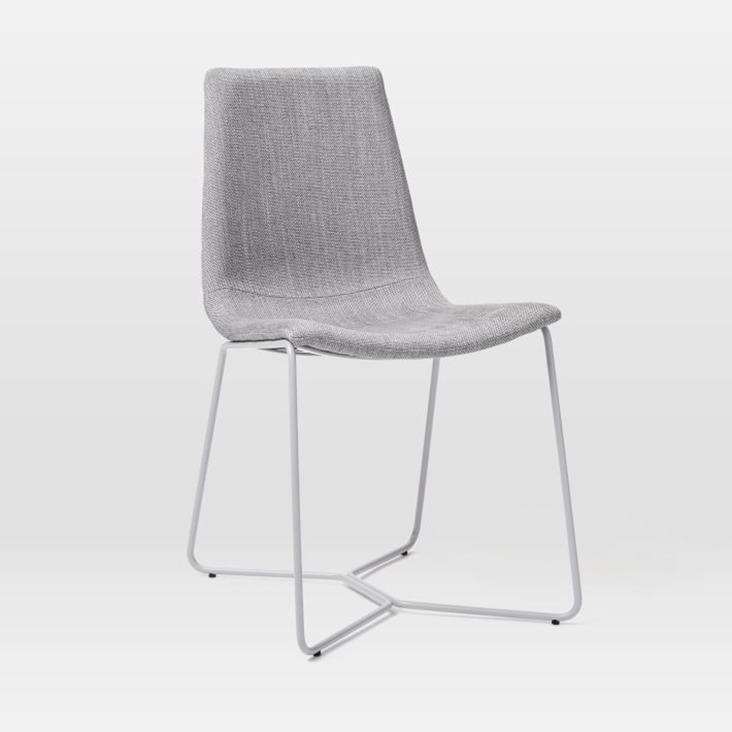 West Elm Slope Upholstered Dining Chair - image-2