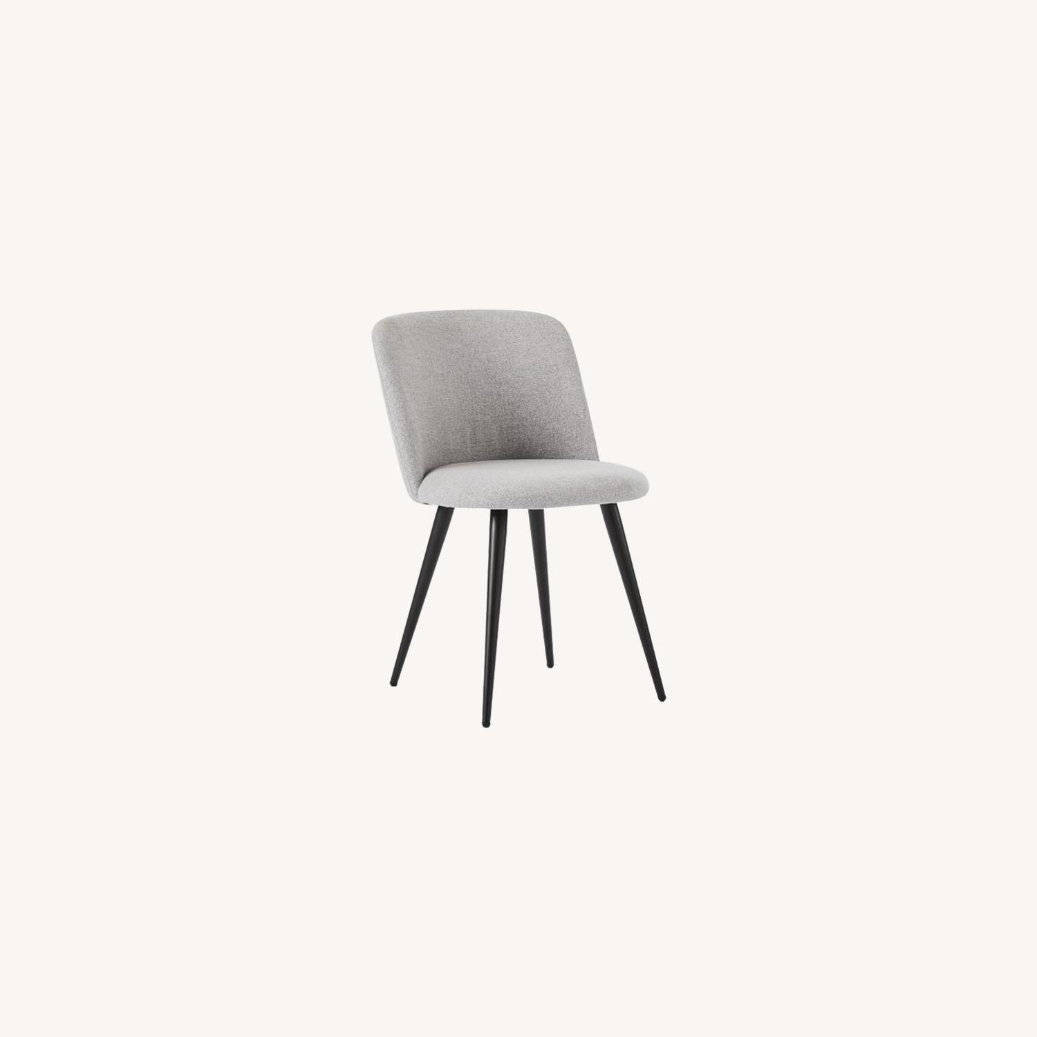 West Elm Lila Upholstered Dining Chair - image-0